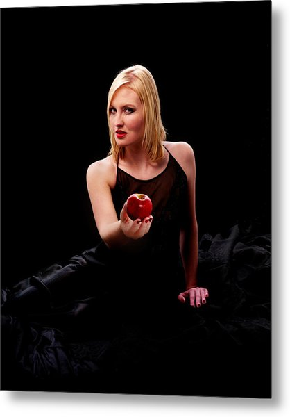 Temptress Metal Print by Don Wolf