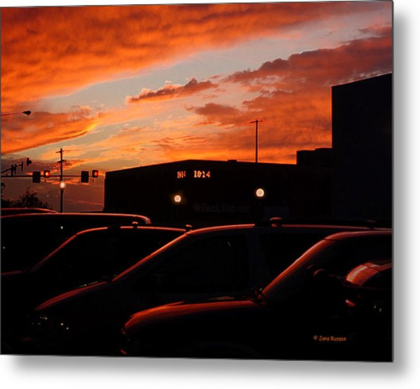 Ten Fourteen P.m. Metal Print