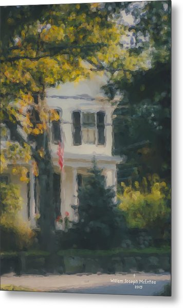 Ten Lincoln Street, Easton, Ma Metal Print