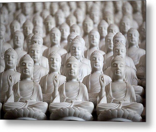 Ten Thousand Buddhas Metal Print by Patricia Bolgosano