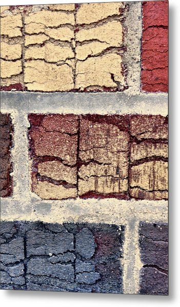Tender Bricks Metal Print
