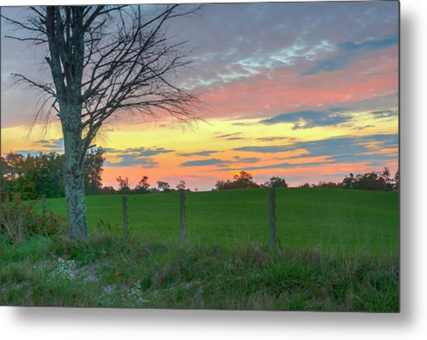 Metal Print featuring the photograph Tennessee Sunset by David Waldrop