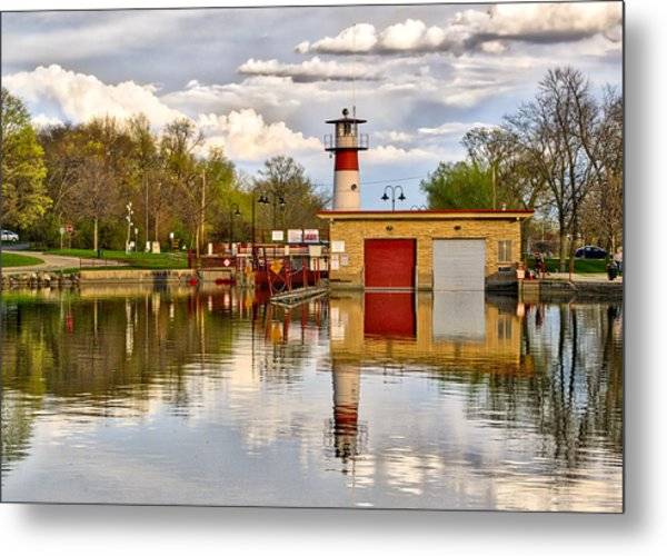 Tenney Lock - Madison - Wisconsin Metal Print