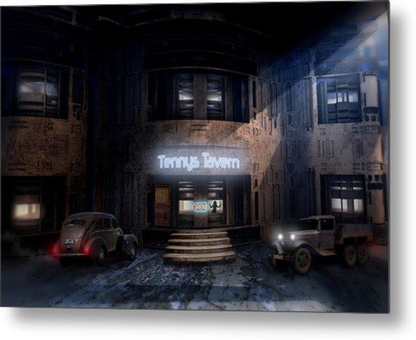 Tenny's Tavern Metal Print