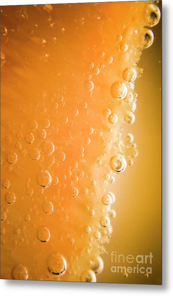 Tequila Sunrise Background Metal Print