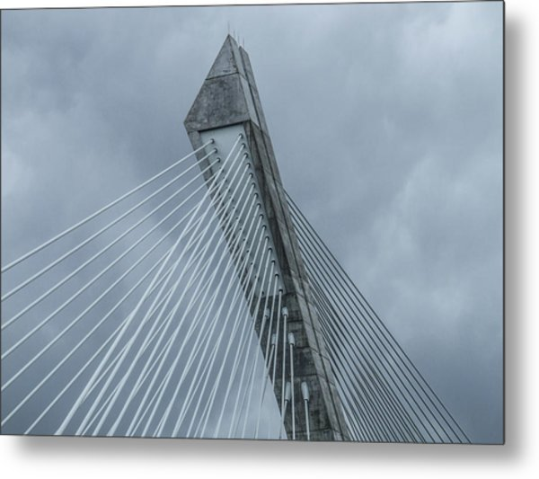 Terenez Bridge II Metal Print