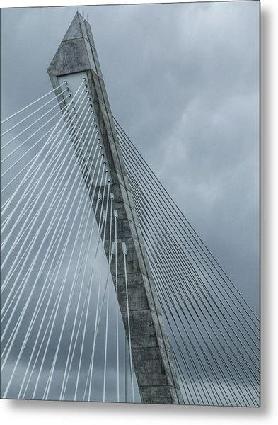 Terenez Bridge IIi Metal Print
