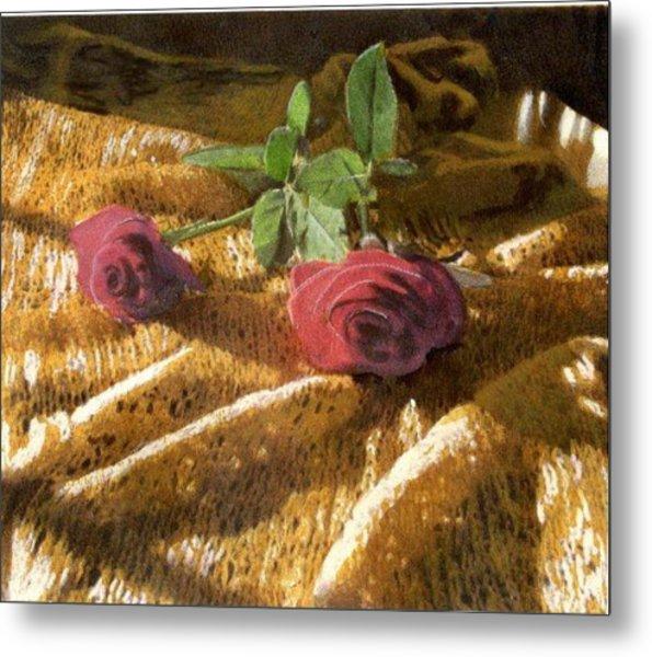 Teri's Roses Metal Print