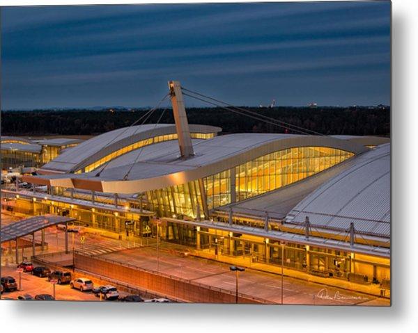 Terminal 2, Raleigh - Durham 9590 Metal Print