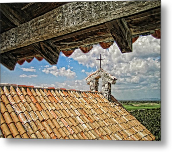 Terra Cotta Church Metal Print