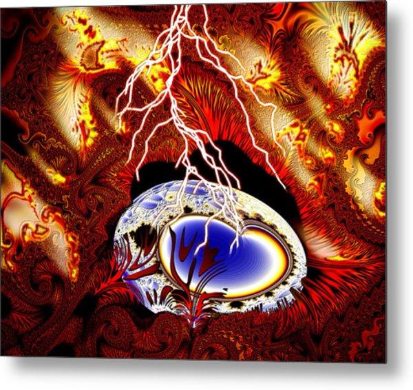 Terra Ovum One Metal Print by Roger Soule