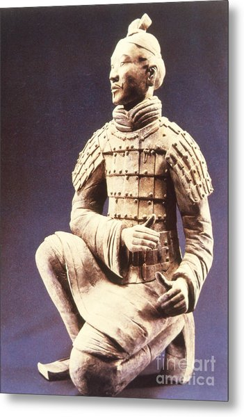 Terracotta Soldier Metal Print