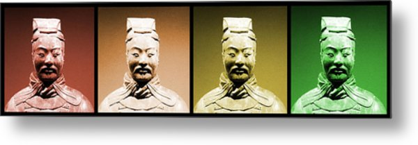 Terracotta Warrior Army Of Qin Shi Huang Di - Royg Metal Print