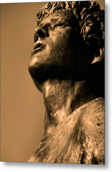 Terry Fox Metal Print by Tingy Wende