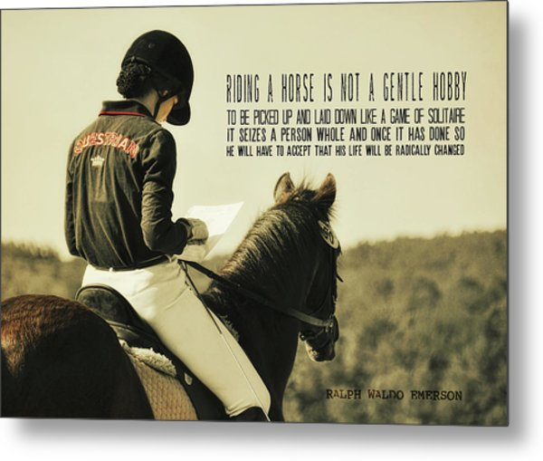 Test Ready Quote Metal Print by JAMART Photography