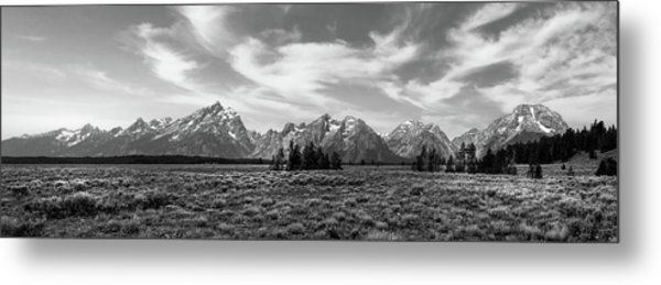 Teton Range Metal Print