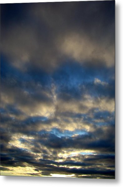 Texas Big Sky Four Metal Print by Ana Villaronga
