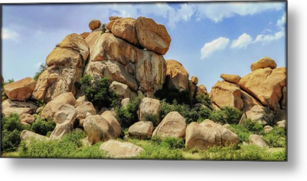 Texas Canyon Metal Print