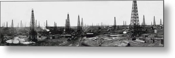 Texas Crude 1919 Metal Print