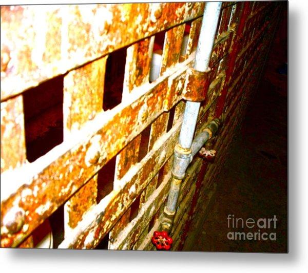 Texas Prison 1 Metal Print by Chuck Taylor