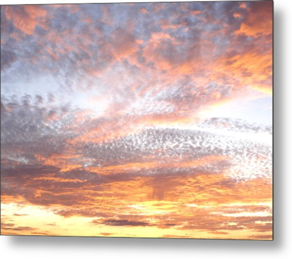 Texas Sky Metal Print by Ursula Wright