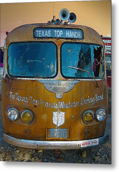 Texas Top Hands Metal Print