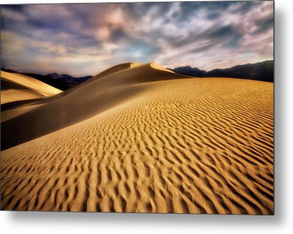 Textured Dunes  Metal Print