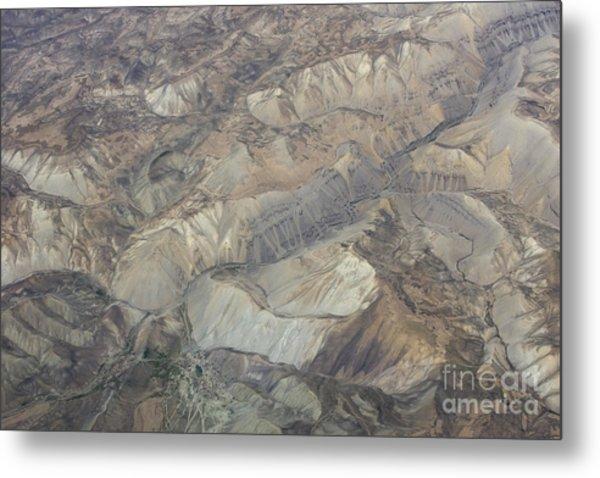 Textured Valleys Metal Print by Tim Grams