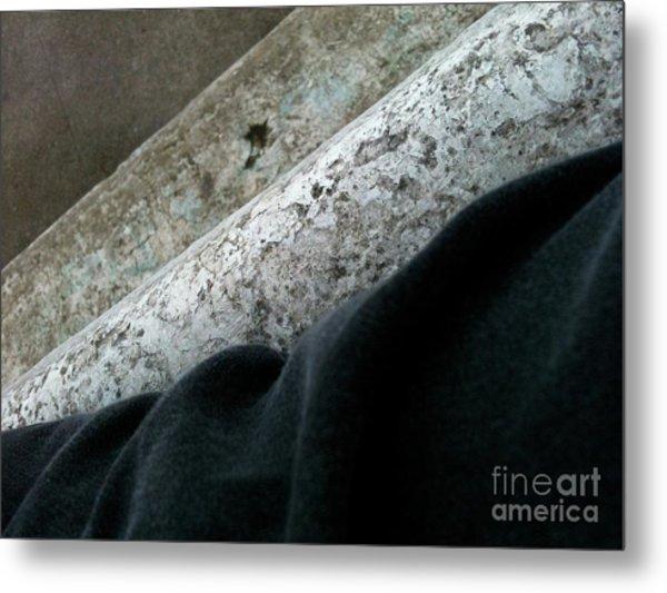 Textureflow Metal Print
