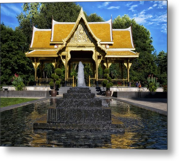 Thai Pavilion - Madison - Wisconsin Metal Print
