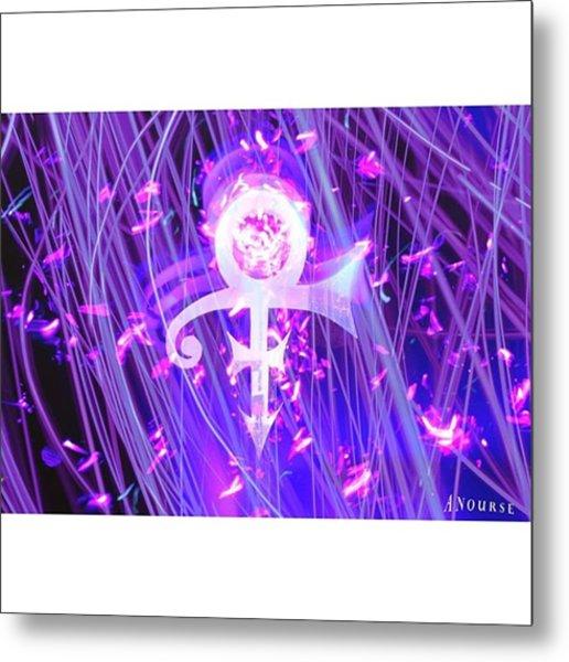 Thanks Prince Rip #ripprince #prince Metal Print