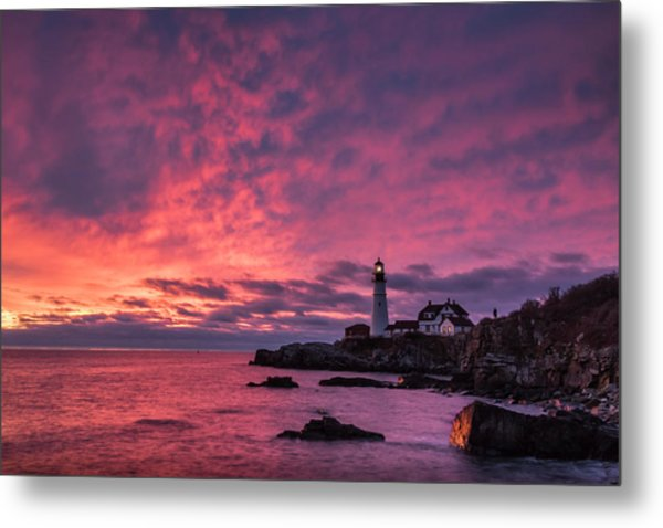 Thanksgiving Sunrise Metal Print