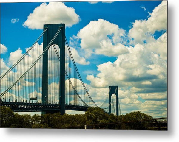 The 2 Mile Drive Metal Print