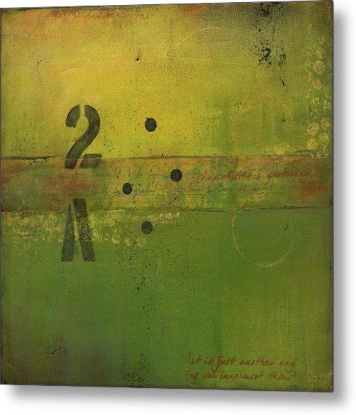 The 2a Metal Print
