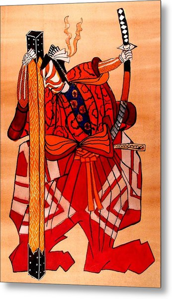 The Age Of The Samurai 04 Metal Print