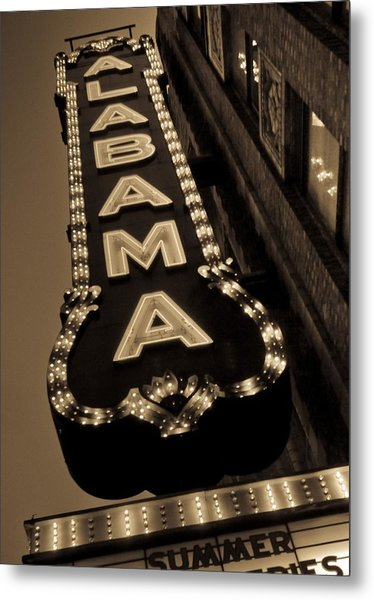 The Alabama Metal Print