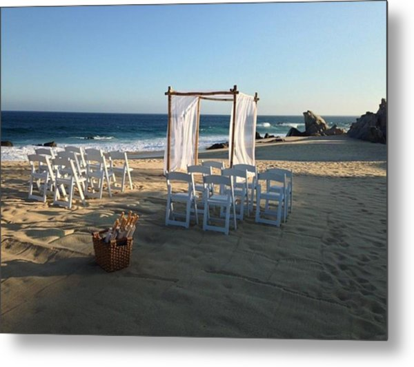 The Alter By The Sea Metal Print