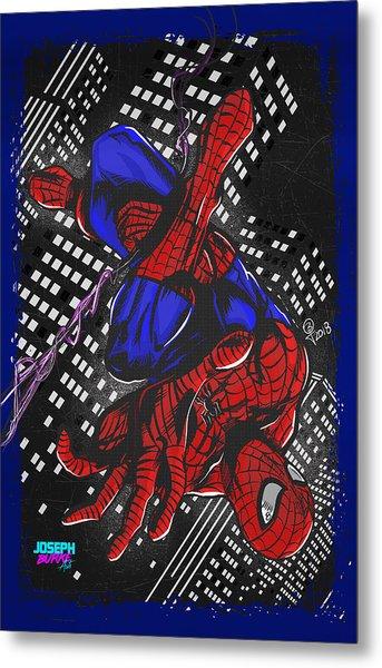The Amazing Spider-man Metal Print by Joseph Burke