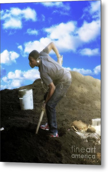 In Search Of The American Dream Metal Print by Walter Oliver Neal