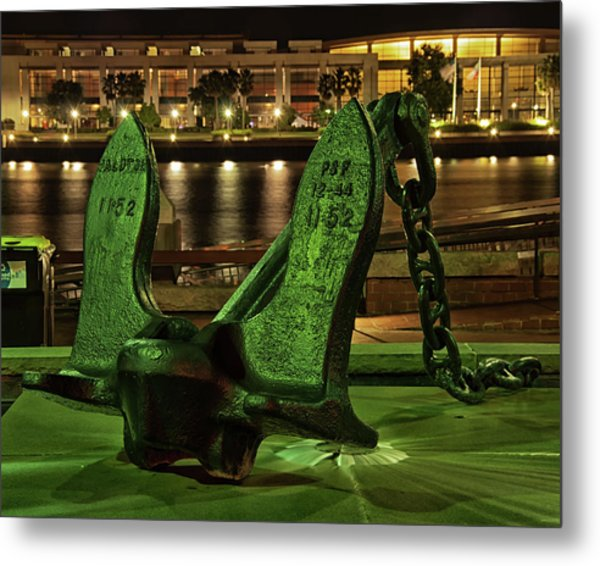The Anchor Monument Metal Print