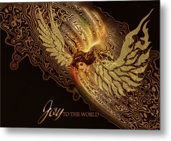 The Angel Cometh Metal Print