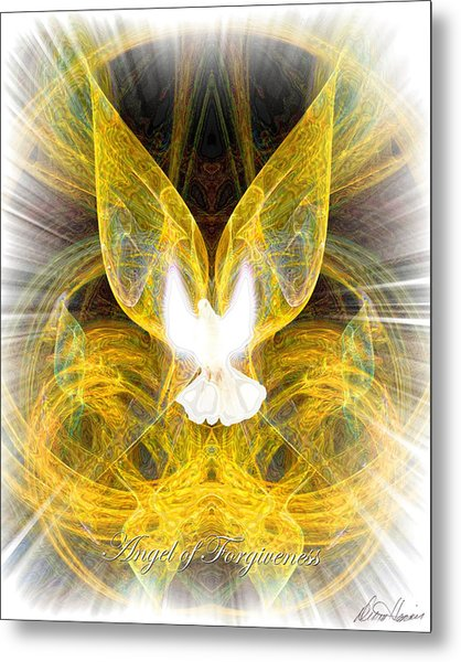 The Angel Of Forgiveness Metal Print