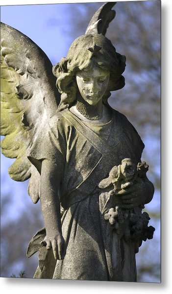The Angel's Blessing Metal Print