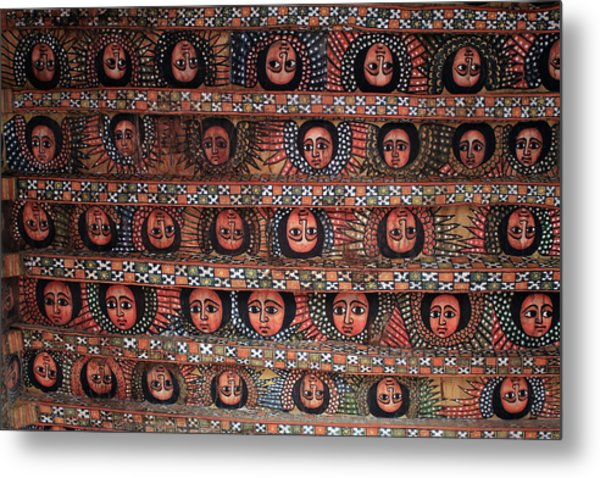 The Angels Of Debre Birhan Selassie Church Metal Print