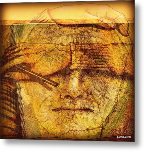 The Anguish Of The Return Lives In Your Eyes Metal Print