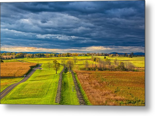 The Antietam Battlefield Metal Print
