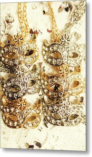 The Antique Jewellery Store Metal Print