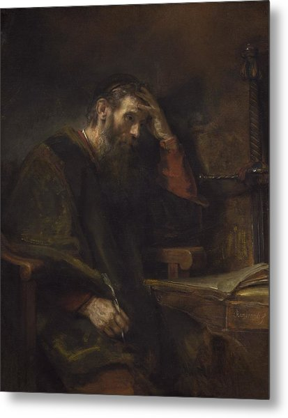 The Apostle Paul Metal Print