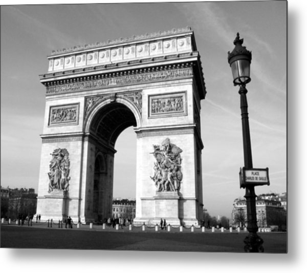 The Arc Di Triomph Metal Print