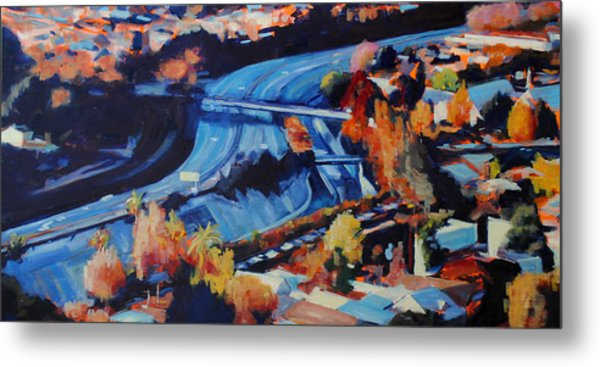 The Arroyo Seco Metal Print